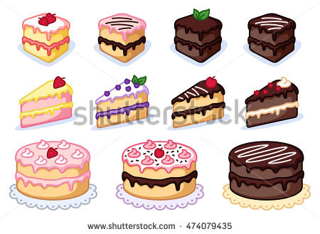 Chocolate Cake Stock Vectors, Images & Vector Art.