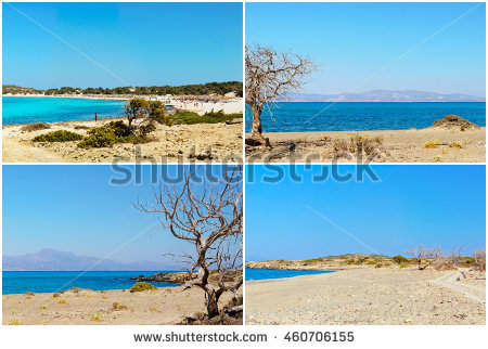 Beach Chrissy Greece Island Stock Photos, Royalty.