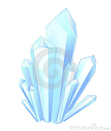 Crystal Stock Illustrations.