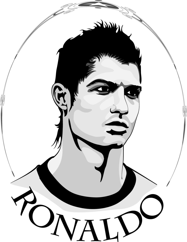 Cristiano ronaldo new clipart.