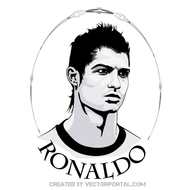 Cristiano ronaldo clipart free download.