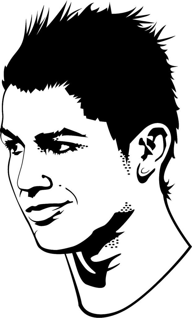 Soccer Kick Ronaldo.