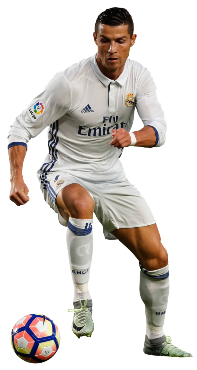Cristiano Ronaldo Png Running With A Ball Png Clipart.