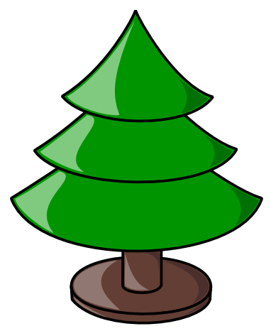 Free Christmas Tree Clipart.