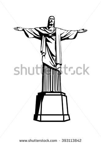 Cristo Redentor Vectores, imágenes y arte vectorial en stock.