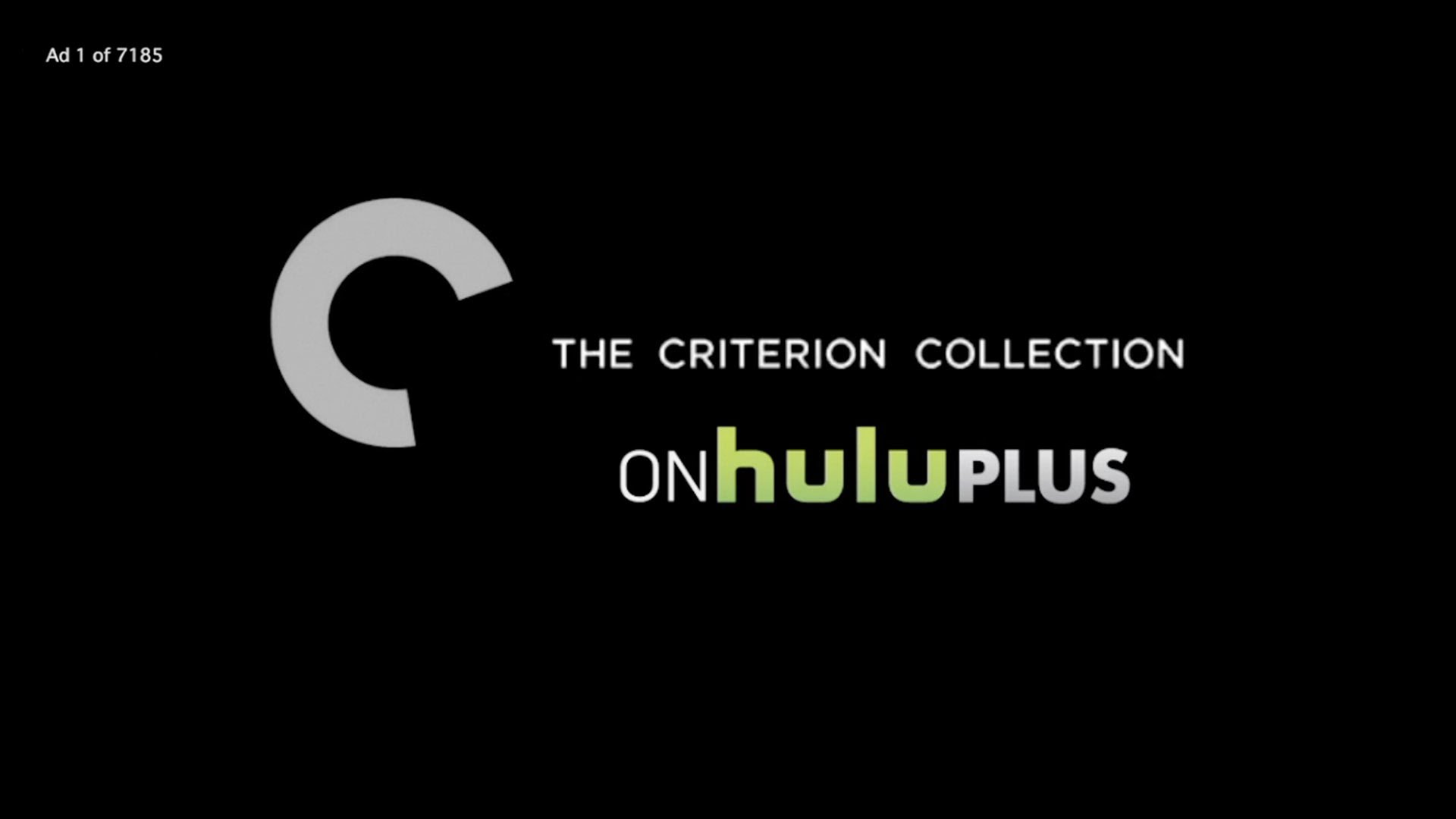 Criterion Collection Hulu Plus Commercial Parody.
