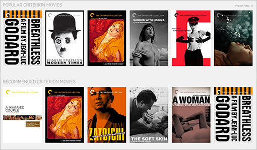 Criterion Collection will be free on Hulu all weekend.