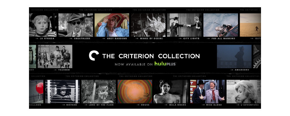 Criterion Collection Hulu.