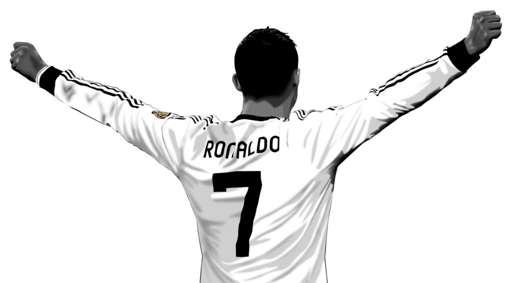 Cristiano ronaldo latest clipart.