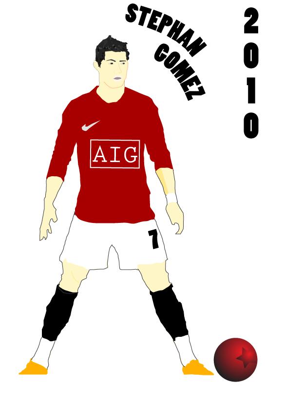 Cristiano Ronaldo Soccer Player Clip Art.