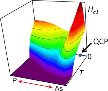 Anomalous critical fields in quantum critical superconductors.