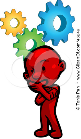 Critical thinking clipart