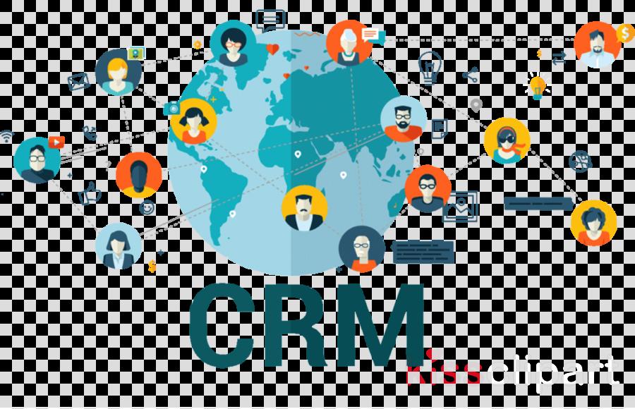Crm Icon clipart.