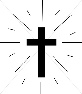 Simple Cross Clipart.