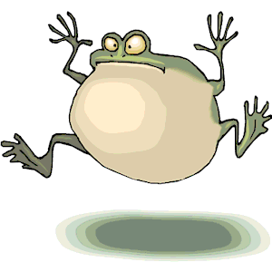 Frog Croaking 2 clipart, cliparts of Frog Croaking 2 free download.