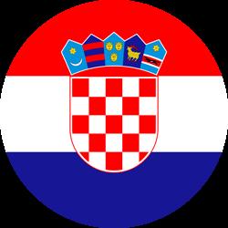 Croatia flag clipart.