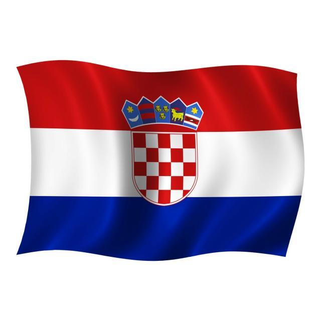 Croatia Wave Flag, Wave Flag, Croatia Flag PNG Transparent Clipart.