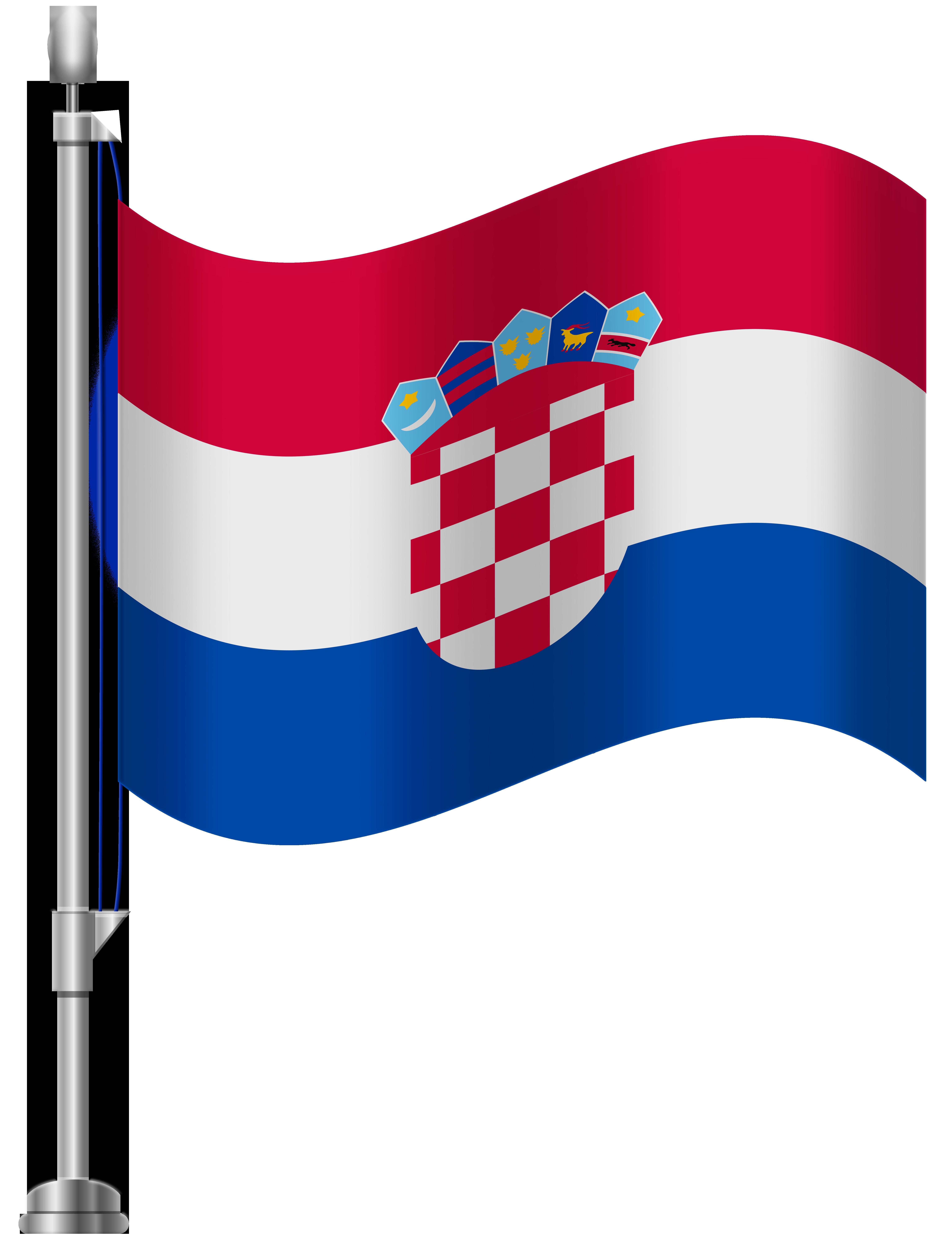 Croatia Flag PNG Clip Art.