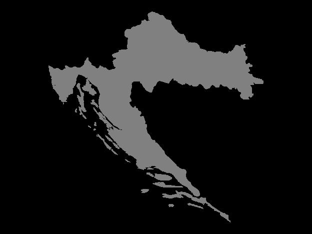 Vector Maps of Croatia.