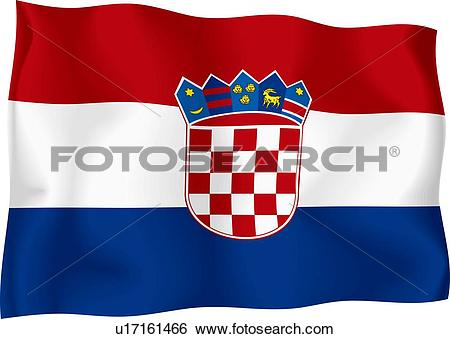 Croatian Clip Art and Stock Illustrations. 939 croatian EPS.