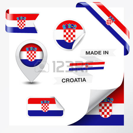 4,689 Croatia Flag Stock Vector Illustration And Royalty Free.