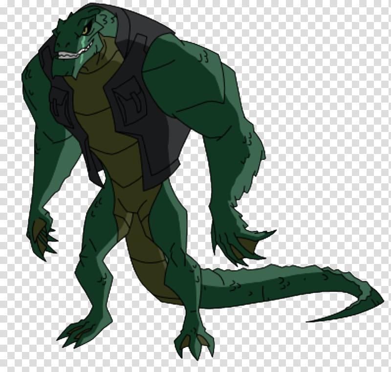 Killer Croc transparent background PNG clipart.