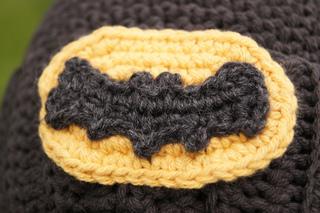 Ravelry: Crocheted Batman Logo pattern by Louis Mensinger.