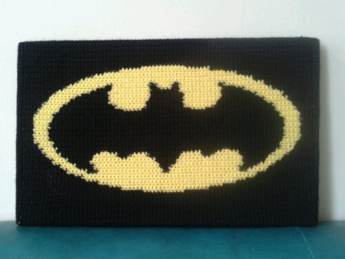 Crochet batman Logos.
