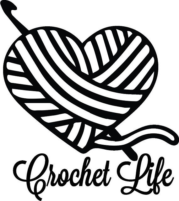 Image result for crochet heart clip art free.