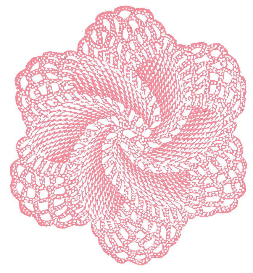 Vintage Crochet Clipart.
