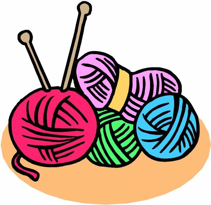 Free crochet clipart.