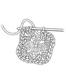 Free Crochet Clipart Black And White, Download Free Clip Art.
