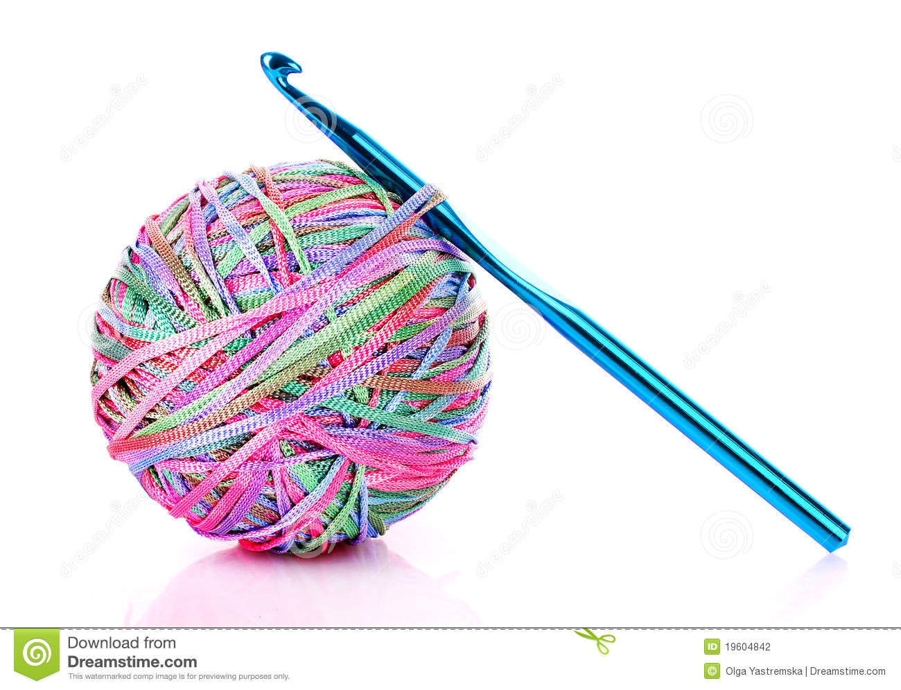 Crochet Hook Clipart.