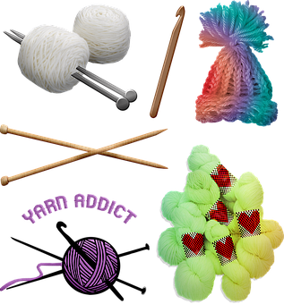 200+ Free Crochet & Yarn Images.