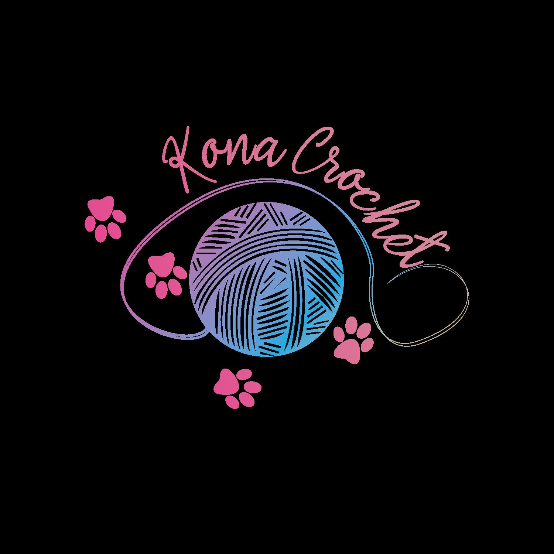 Playful, Colorful Logo Design for Kona Crochet by regzie.