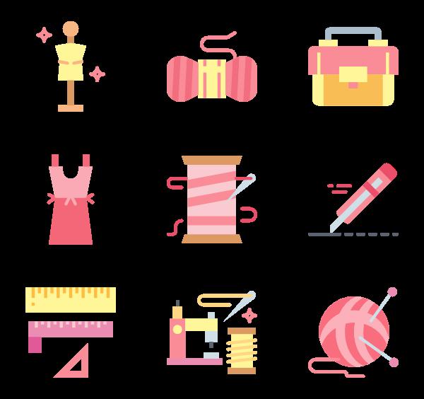 Crochet Icons.