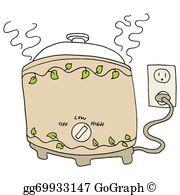 Crockpot Clip Art.