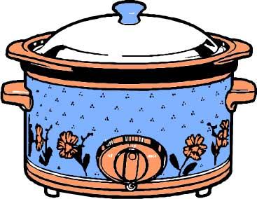 Crock Pot Soup Clip Art.