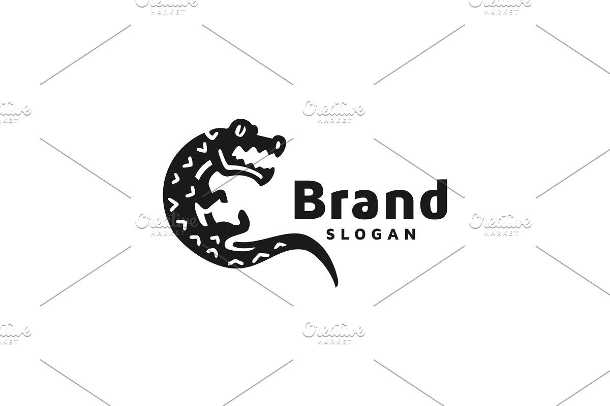 Crocodile Logo ~ Logo Templates ~ Creative Market.