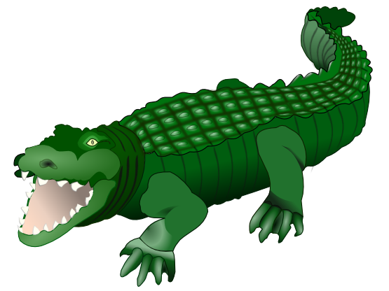 Free to Use & Public Domain Crocodile Clip Art.