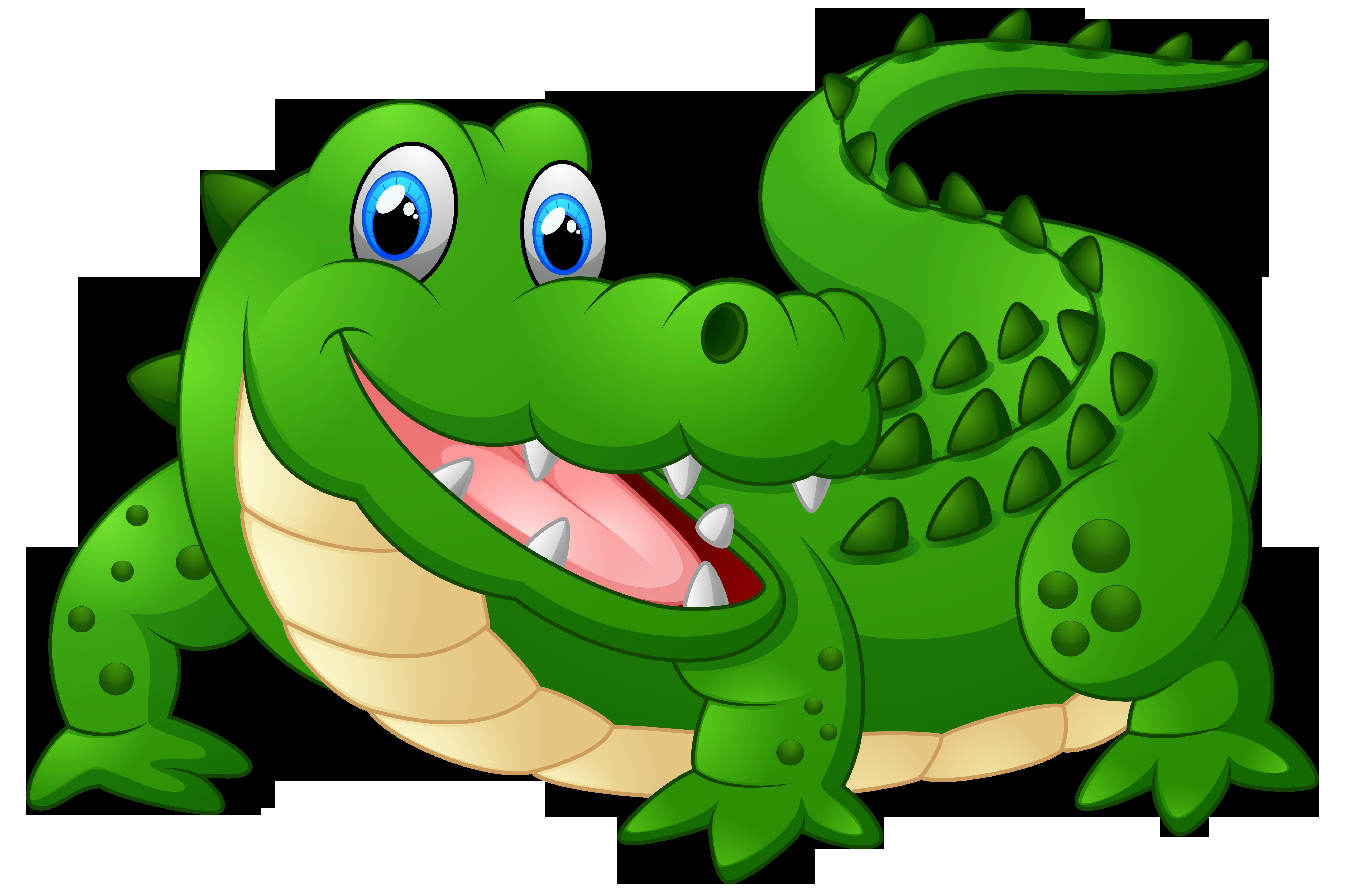 Funny alligator clip art crocodile pictures 5.