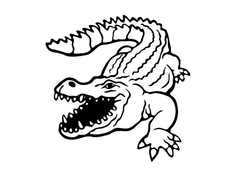 Crocodile svg Crocodile Clipart Crocodile Silhouette Svg Crocodile Clip Art  Crocodile Png Cut File Vector Crocodile Dxf png.