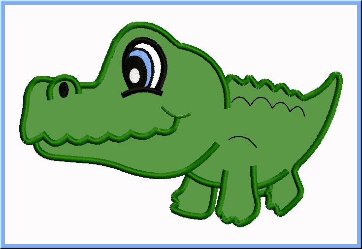 Gator clipart easy, Gator easy Transparent FREE for download.