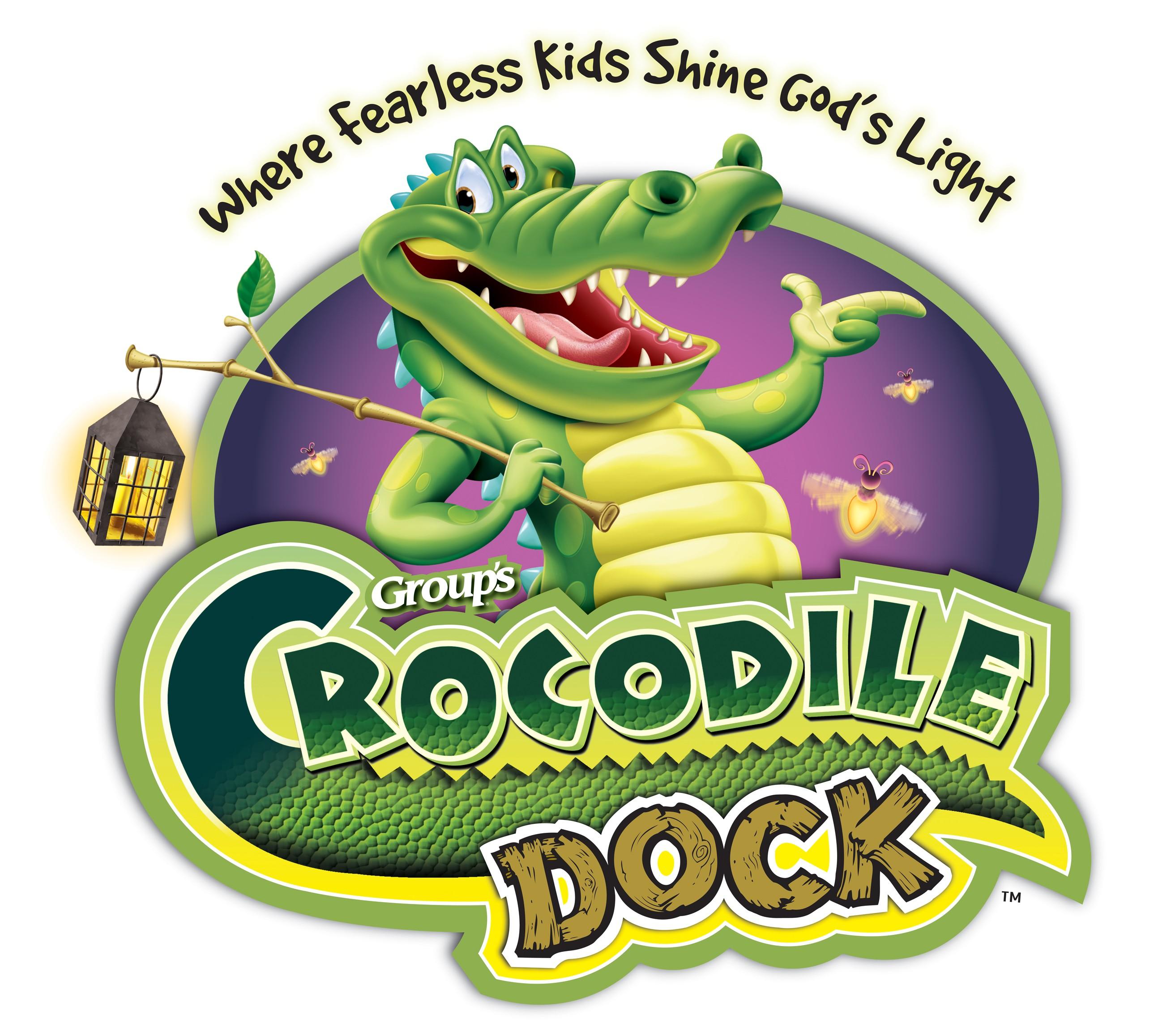 Crocodile Dock Clipart.