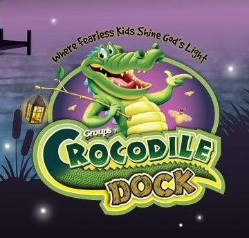 Crocodile Dock Vbs Clip Art.