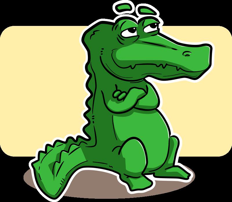 Crocodile Cliparts.