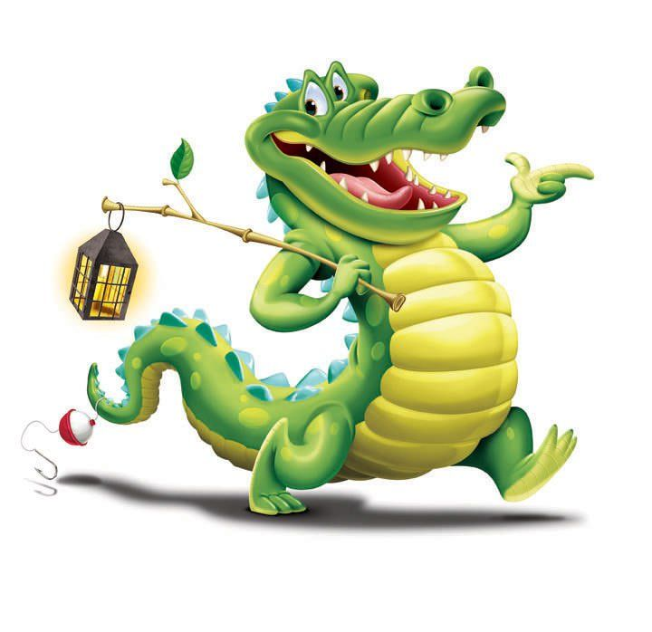Crocodile Dock Clipart 2 by Pam.