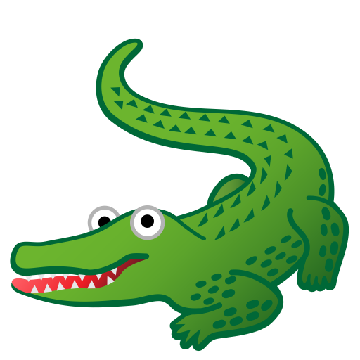 Crocodile Dock free clipart.