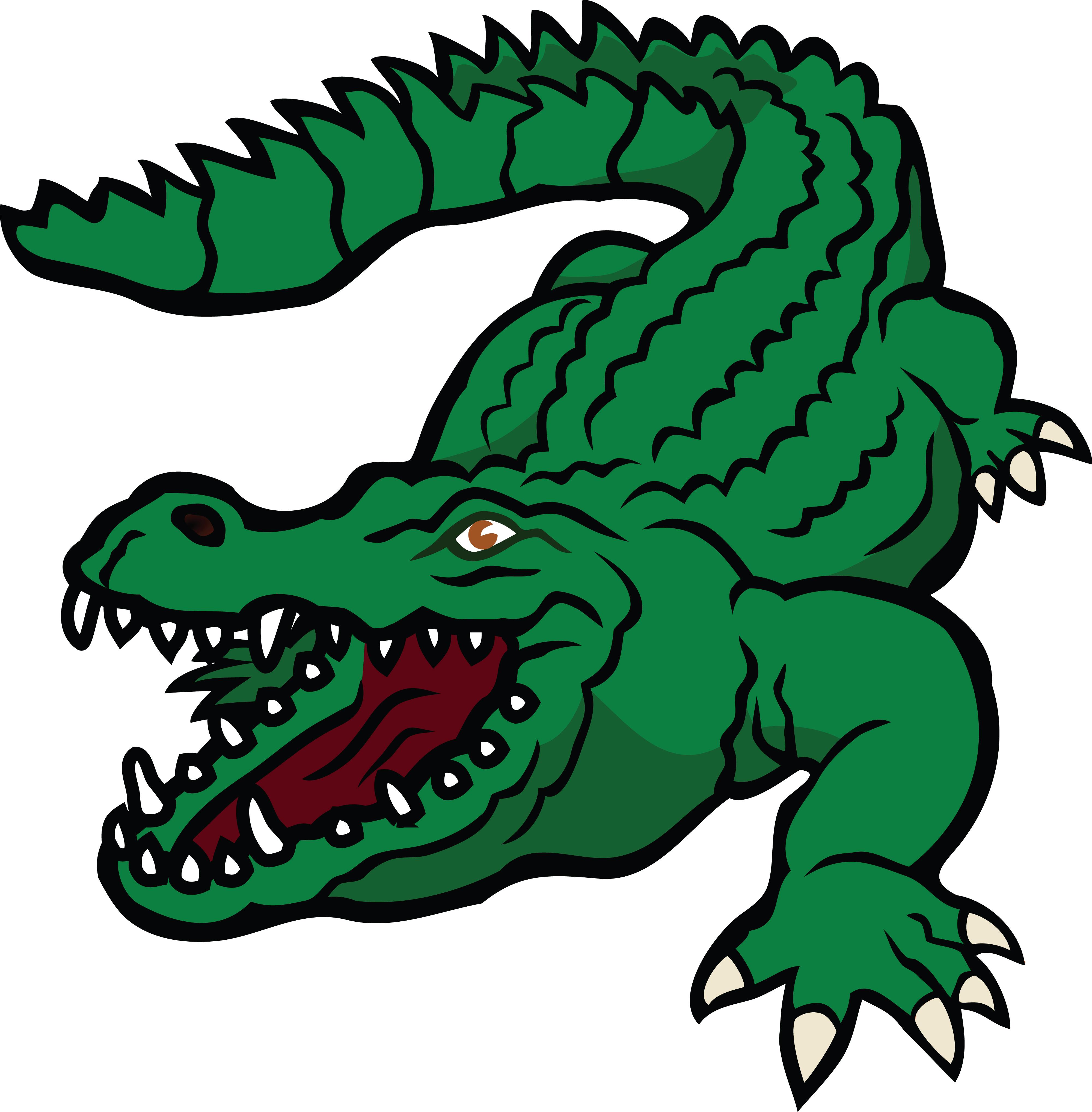 Free Clipart Of A crocodile.