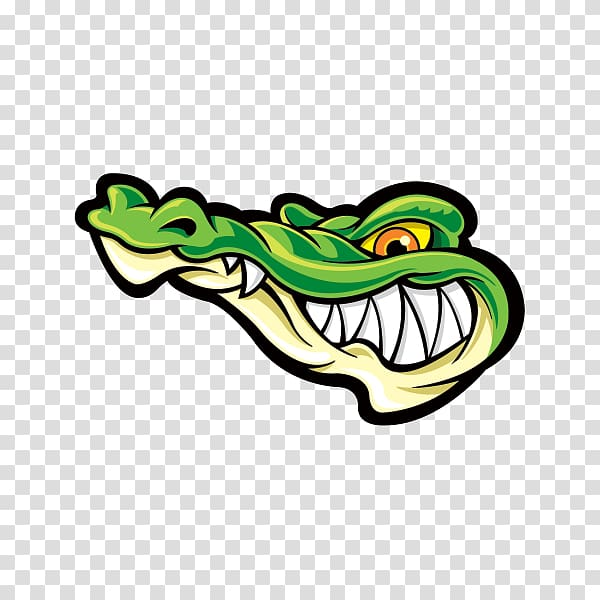 Alligator Crocodile Sticker Decal T.